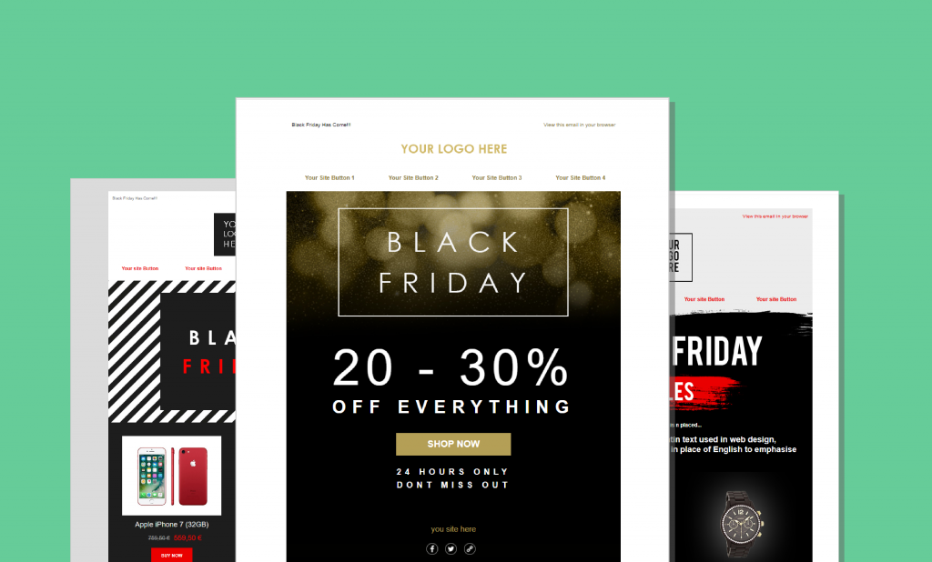 Black Friday Email Subject Lines & Templates