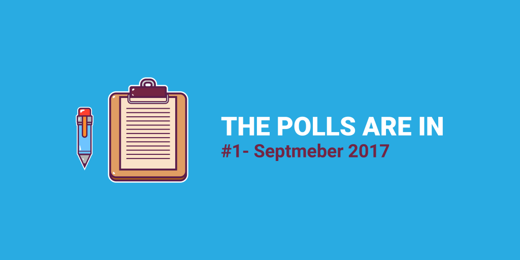 Sept '17 Polls Are In - The Top eCommerce Challenge