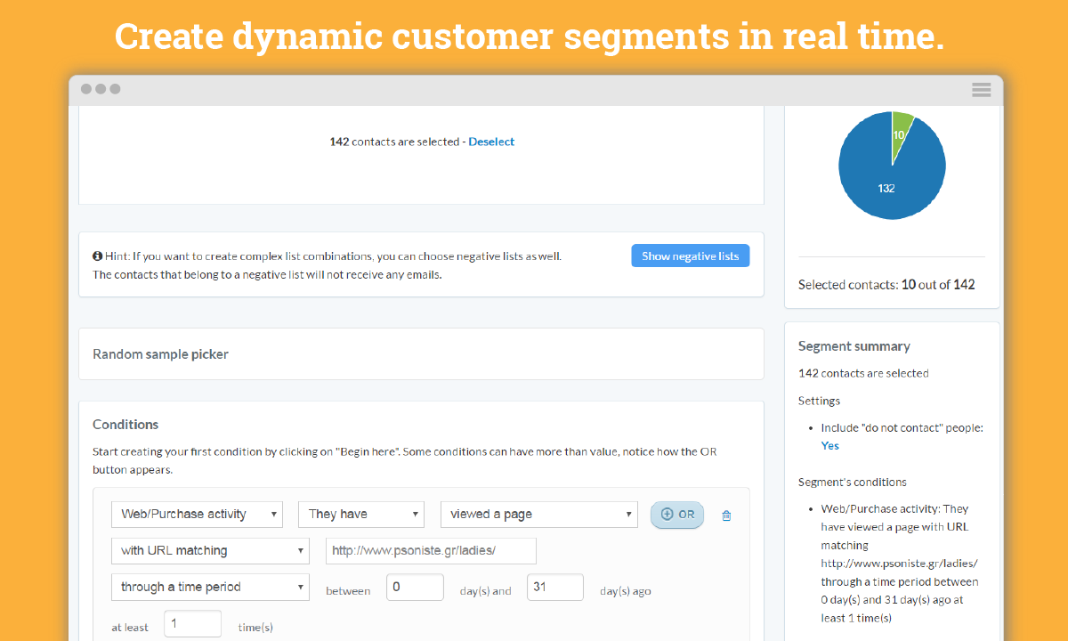 Smart customer segmentations