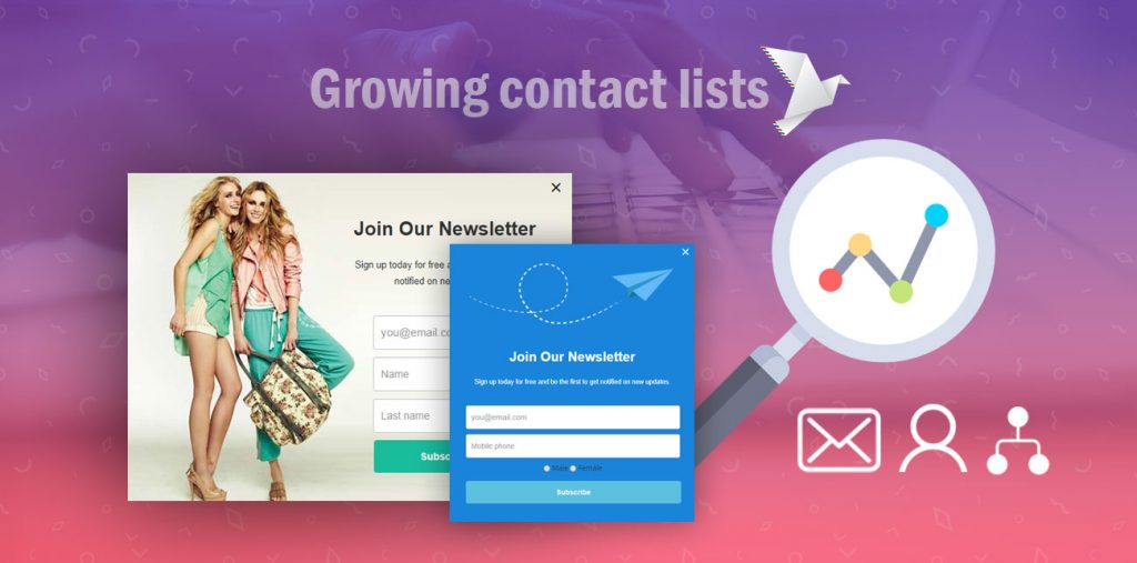 Email signup form best practices for growing contact lists