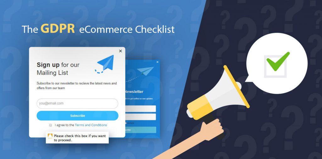 The GDPR eCommerce Checklist