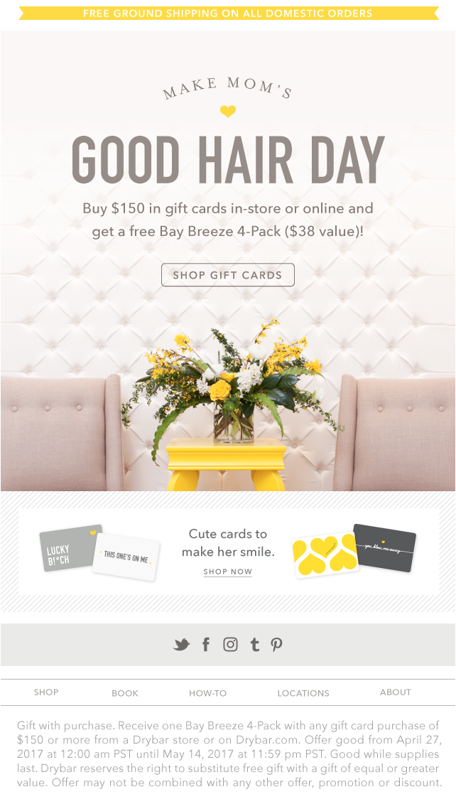 Mother's Day Marketing Ideas - Bundle Offers