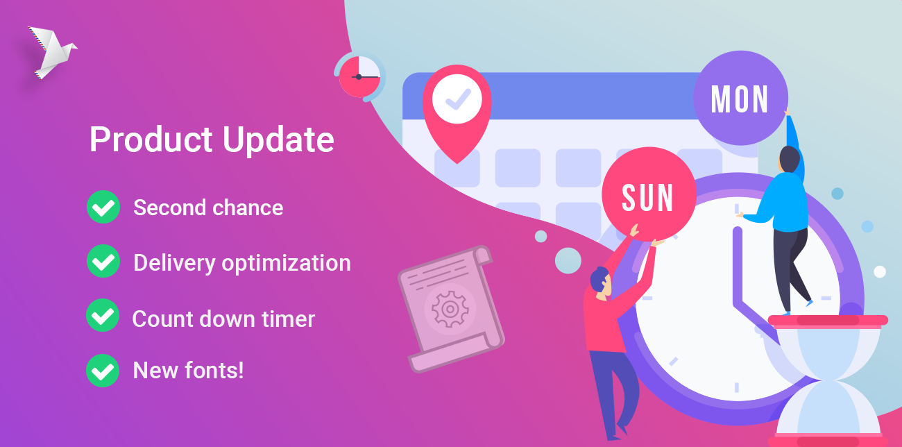 ContactPigeon Product Update Email Marketing Features