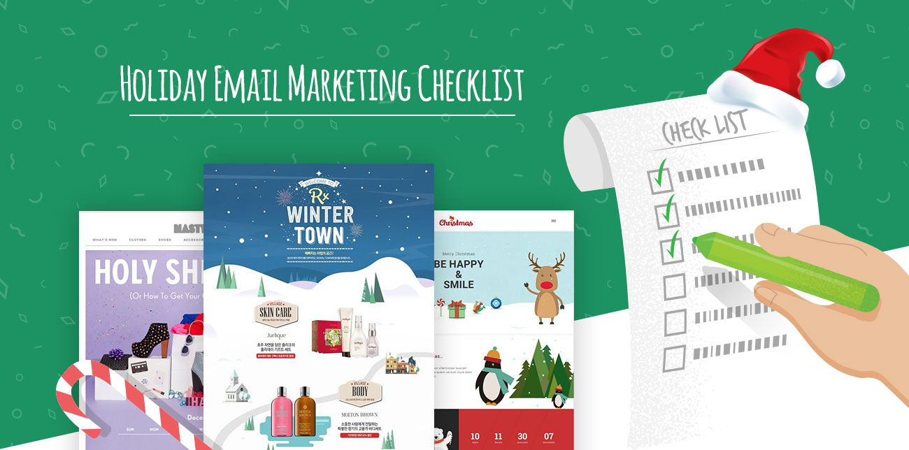 Holiday email marketing checklist
