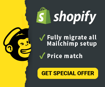 Special offer: Mailchimp alternative for Shopify