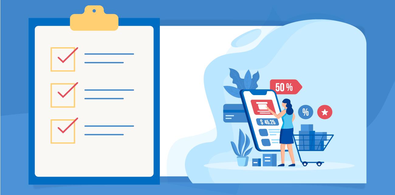 eCommerce Checkout Flow Design Checklist