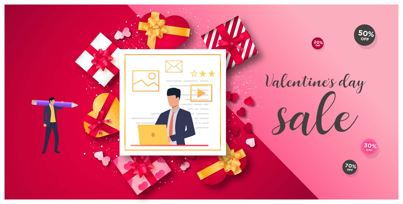 retail best practices valentine's day